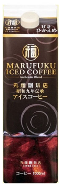 0/1934 Traditional iced coffee sweetness, cooking 1 L paper Pack 6 pieces [iced coffee liquid mini sugar sweet cooking 1000 ml]