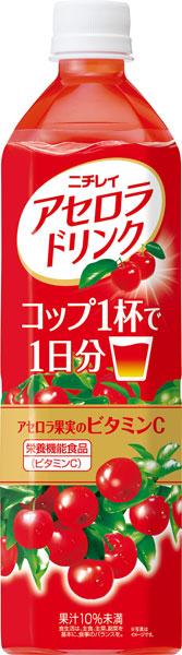 ニチレイ アセロラ 음료 900ml 펫 12 개입 × 2 대량 구매