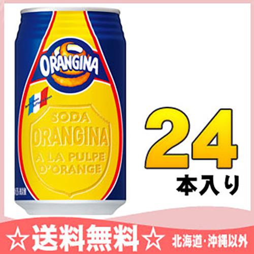オランジーナ 340ml 캔 24 개 入 〔 オレンジーナ orangina 〕