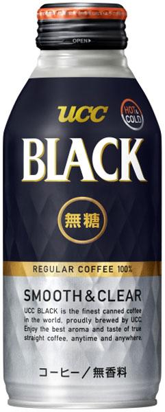 UCC BLACK 무가 당 SMOOTH&CLEAR 375g와 캔 24 개 入 〔 프리미엄 아로마 블랙 커피 향기가 없는 ユーシーシー 커피 こーひー 블랙 커피 coffrr 일반 커피 병 깡통 〕