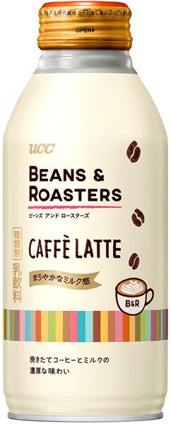 UCC BEANS&ROASTERS CAFFELATTE 375g 병 캔 24 개 入 〔 라 떼 〕