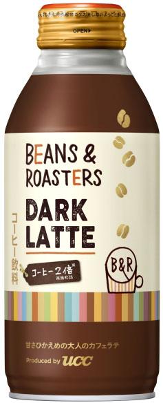 UCC BEANS&ROASTERS DARK LATTE 375g와 캔 24 개 入 〔 라 떼 라 떼 콩 &로 스타 ダークラテ 커피가 당 병 깡통 〕