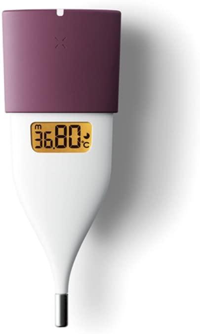 朝10秒でわかる☆ルナルナ 在庫一掃 ラルーンアプリと連携OK オムロン 婦人用電子体温計 ピンク MC-652LC-PK マタニティ 安全 妊活 妊娠 排卵日 基礎体温 妊婦 アラーム機能 女性 測定 検温 レディース