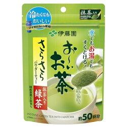 伊藤園 お~いお茶 抹茶入りさらさら緑茶 40g入×30個 粉末 お茶 緑茶 りょくちゃ 通販 ※こちらの商品は他の商品との同梱できません。