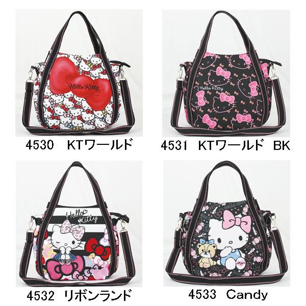 Diarissimo Hello Kitty 2-WAY shoulder bag DEARISIMO bag Hello Kitty Sanrio Hello Kitty-CHAN