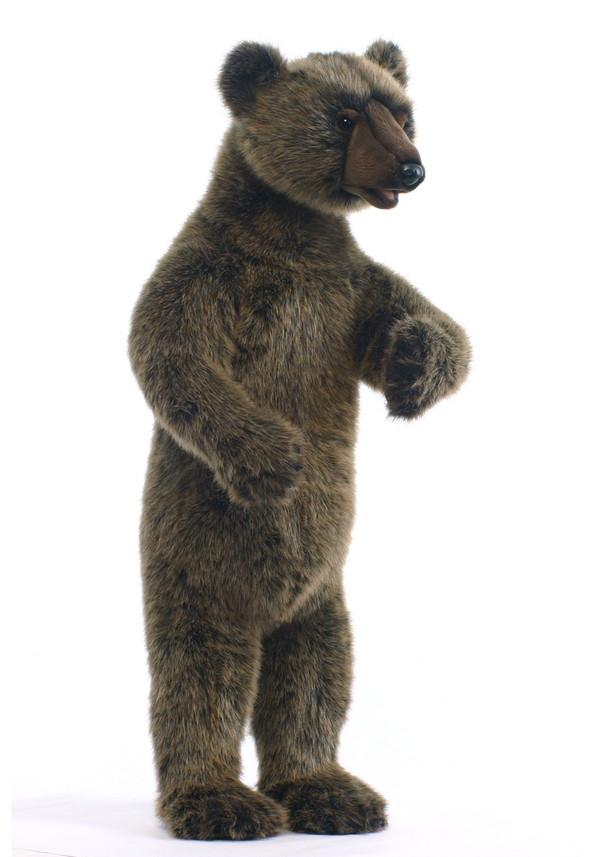 HANSA(ハンサ) 灰色グマ >> ぬいぐるみ ヌイグルミ 動物 アニマル リアル 本物そっくり インテリア フィギュア 【メーカー直送品】 メーカー直送の為、代金引換・他商品との同梱はできません。
