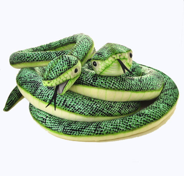 For a stuffed toy animal animal rial lifelike interior figure skating maker direct shipment including the HANSA (ハンサ) boa constrictor parent and child (parent) approximately 400cm (child) approximately 140cm>> sewing with C.O.D., other products can