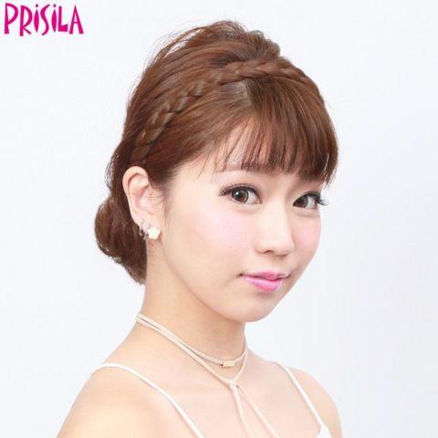 【店内P最大20倍】プリシラ みつあみウィッグ【みつあみバンド】PG-01