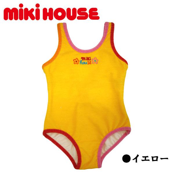 【30%OFFセール】ミキハウス(MIKIHOUSE)ミキハウスロゴ入り☆スイムウエア