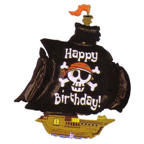 女の子のお誕生日 人気上昇中 男の子のお誕生日パーティーにぴったりなパーティーバルーン パイレーツシップ ※メール便可 バースデーパーティーバルーン 直輸入品激安 ヘリウムガス無し