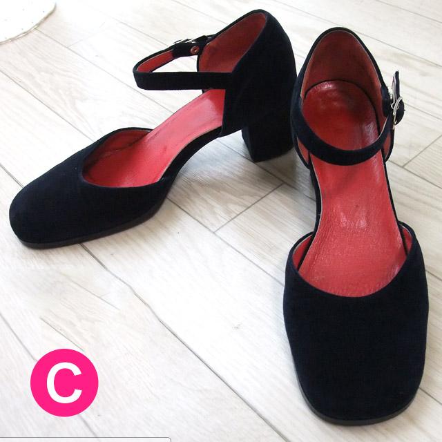 メイド服に一番似合う靴【送料無料】メイドさんの靴(スエードタイプ)