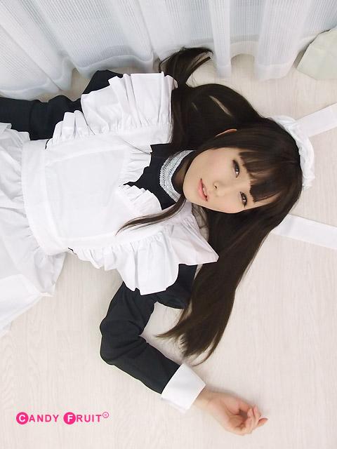 メイド服 ロング 黒【送料無料】ディアナメイド服
