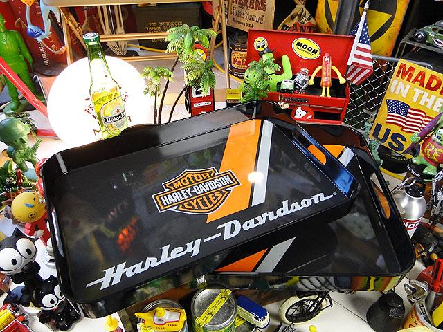 アメリカ好きにとって間違いなく一生モノになる逸品です セール特価 ハーレーダビッドソンのサービングトレイ 2個セット ■ ディスカウント アメリカ雑貨 アメリカン雑貨 ハーレーダビッドソン harley 人気のアメリカ雑貨屋 通販 雑貨 davidson アメリカ プレゼント ガレージグッズ こだわり派が夢中になる