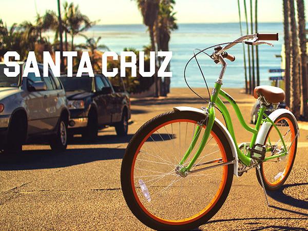 【全国送料無料】サンタクルズ ■ アメリカ雑貨 アメリカン雑貨 自転車 西海岸スタイル 西海岸 ビーチクルーザー