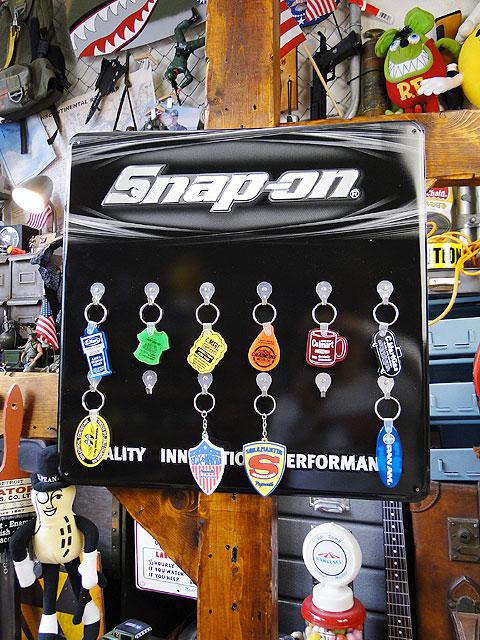 スナップオンのキーホルダーボード ■ アメリカ雑貨 アメリカン雑貨