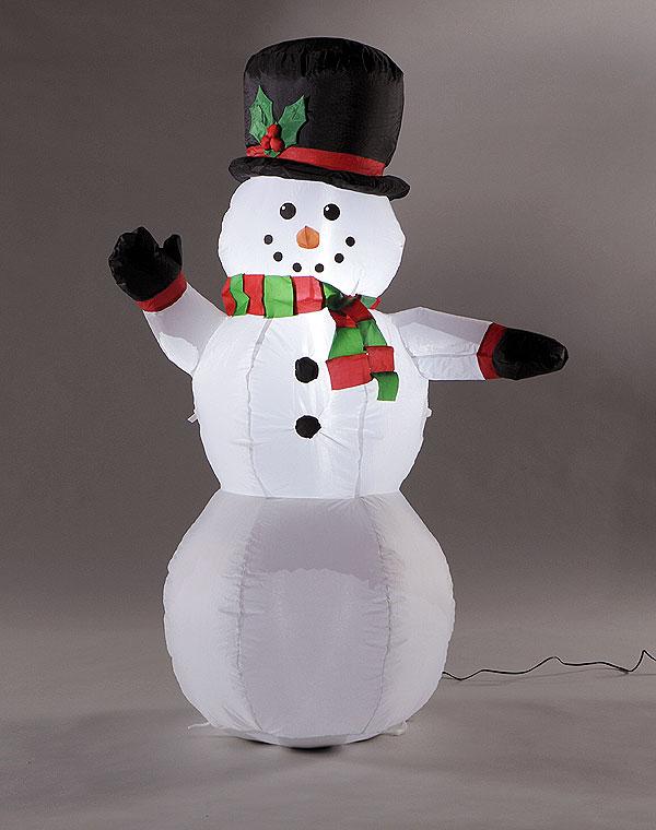 クリスマス・スノーマンのエアブロー Mサイズ