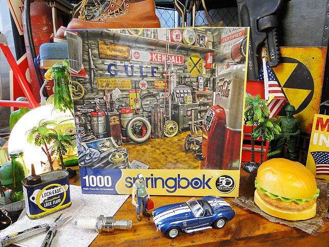 アメリカンガレージのジグソーパズル 1000ピース ■ アメリカ雑貨 アメリカン雑貨