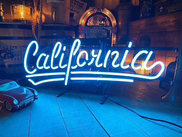 カリフォルニアのネオン管(ブルー)