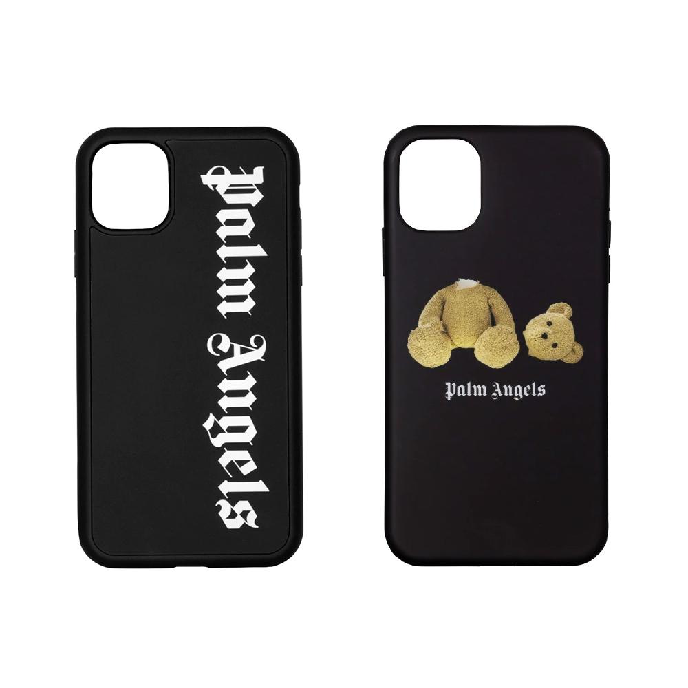 パーム エンジェルス 定番スタイル PALM ANGELS iPhoneケース 買取 パームエンジェルス PALMANGELS iPhone11ケース アイフォンカバー BEAR PMPA015R21PLA003 STENCIL CASE LOGO PMPA015R21PLA001 全2色 IPHONE11 PA
