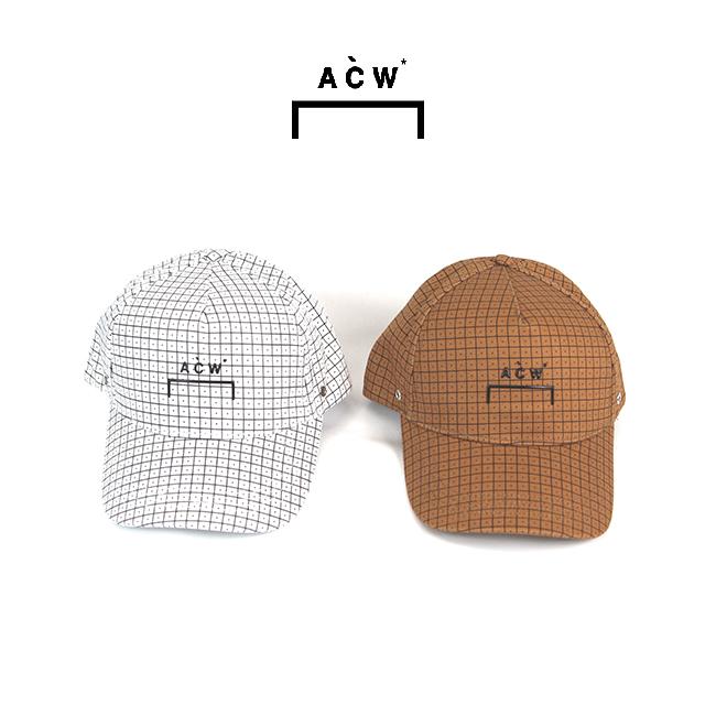 【半期に一度の 決算SALE】A COLD WALL ア コールド ウォール ACW CLASSIC CAP WITH GRIDPRINT キャップ(全2色) 【ACW-MF19-ZCPC01】