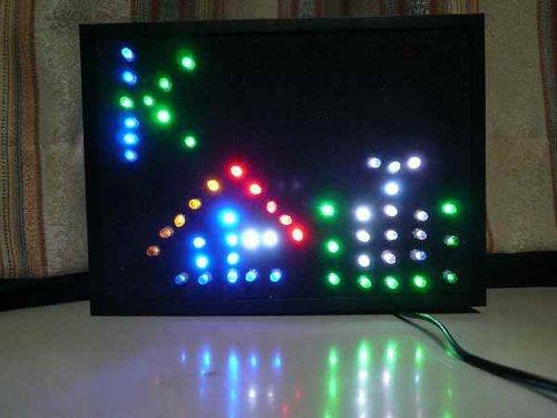 LEDネオン看板 電子看板 LED看板 CA 激安価格と即納で通信販売 デポー 小 装飾用看板 イルミネーション ネオンパネル 国産