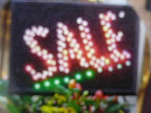 ネオン看板 電子看板 LED看板 セール 特集 PA 大 新品未使用 イルミネーション 国産 装飾用看板 ネオンパネル