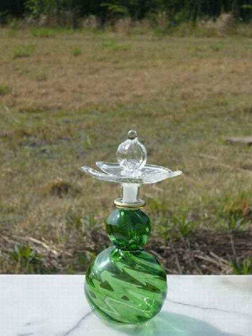 エジプト職人の手作り 香水瓶 安心の定価販売 ガラス工芸品 1着でも送料無料 プレゼント贈答品 エジプト香水瓶14 パヒュームボトル ガラス細工