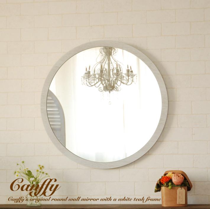 Canffy Rakuten Global Market Mirror Wall Mounted Round Mirrors L White