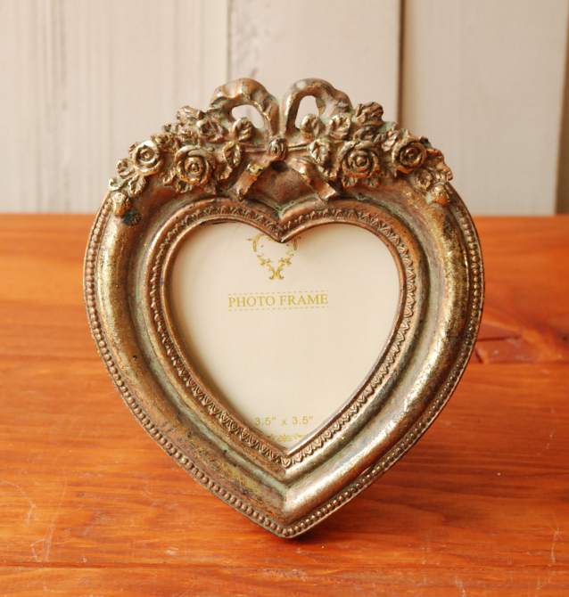 Canffy Photo Frame Antique Wall Hanging Heart Heart