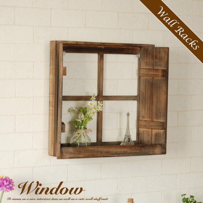 Canffy Wall Shelf Window Frame Wall Rack Window Window Frame Wall