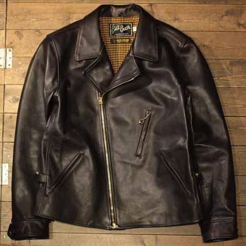 AttractionsBILTBUCKLot.379 HORSEHIDE DOUBLE SPORT JACKETBLACK【Attractions】(アトラクションズ)正規取扱店(Official Dealer)Cannon Ball(キャノンボール)【あす楽対応/送料無料/WEARMASTERS/BILTBUCK】