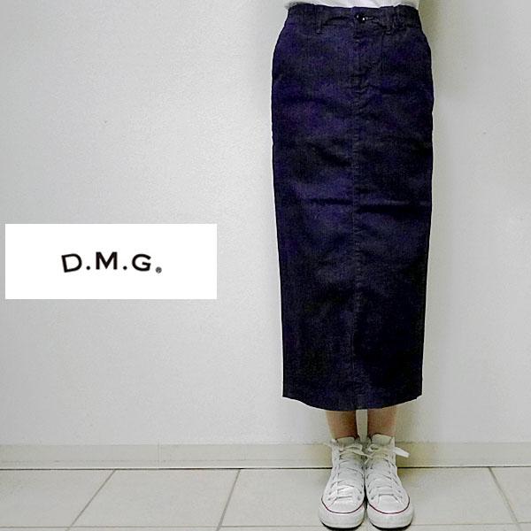 【7/31 23:59までポイント10倍】DOMINGOドミンゴ DMGディエムジー 17-402C タイトスカート 29-8 インデイゴワンウォッシュOW 2サイズ(S M) 17-0402C