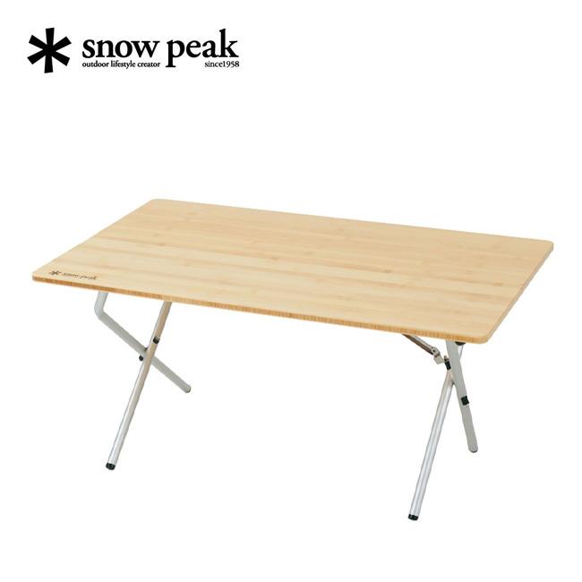 スノーピーク ワンアクションローテーブル 竹 snow peak LV-100T テーブル 折りたたみテーブル 折り畳みテーブル <2019 春夏>