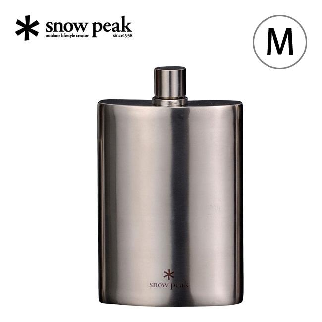 スノーピーク チタンスキットル M snow peak ウィスキーボトル アウトドア <2018 春夏>