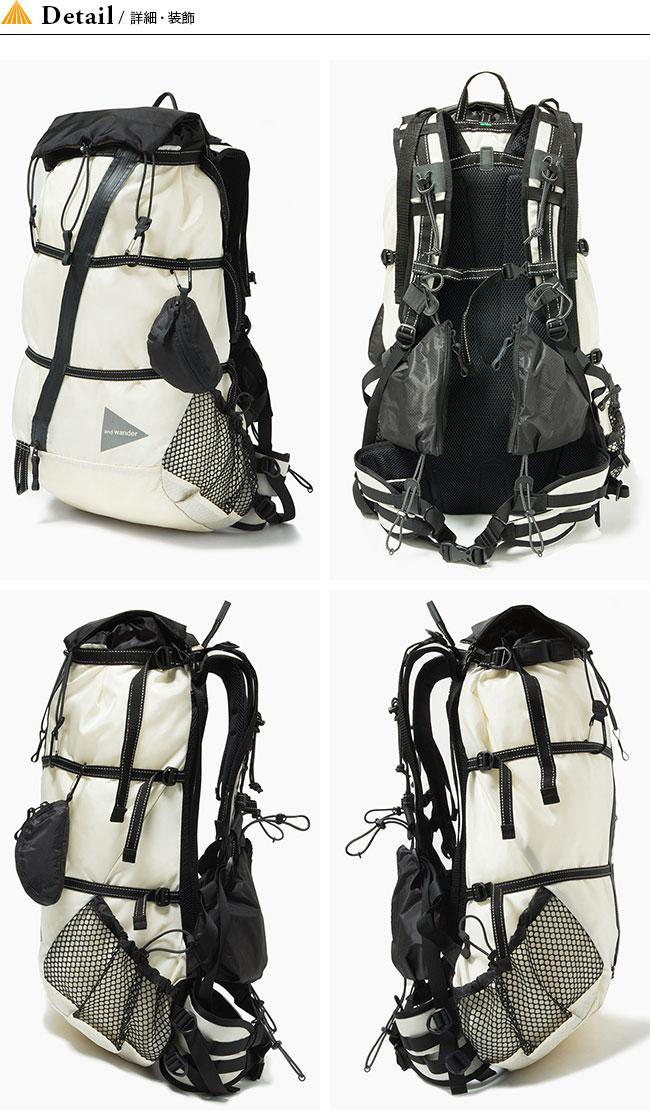 0ccf34038452 30L バックパック. □ブランド:and wander(アンドワンダー)□商品名:40L backpack 40L