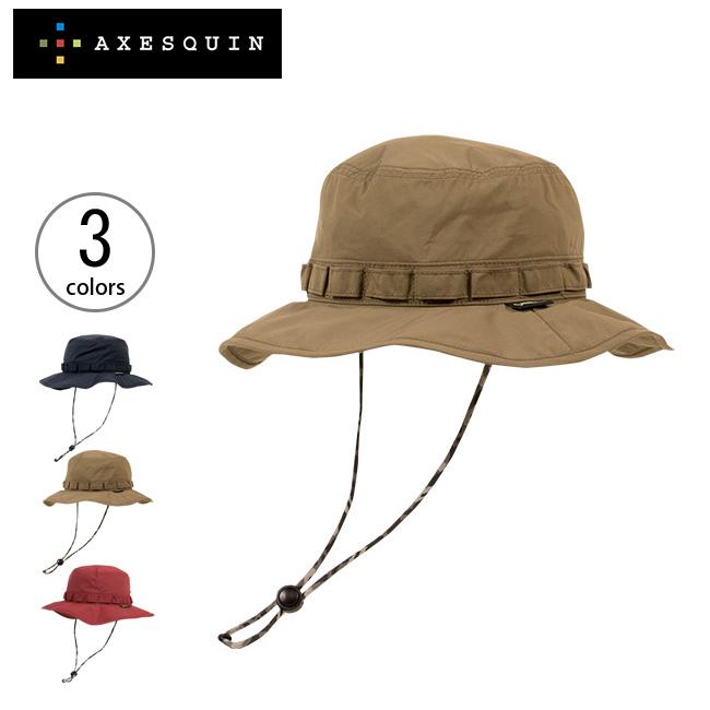 アクシーズクイン ゴアテックス ミリタリーハットソリッド AXESQUIN メンズ ウィメンズ RX0059 帽子 ハット アクセサリー 日よけ UV 紫外線カット アウトドア ハイキング 登山 <2019 春夏>