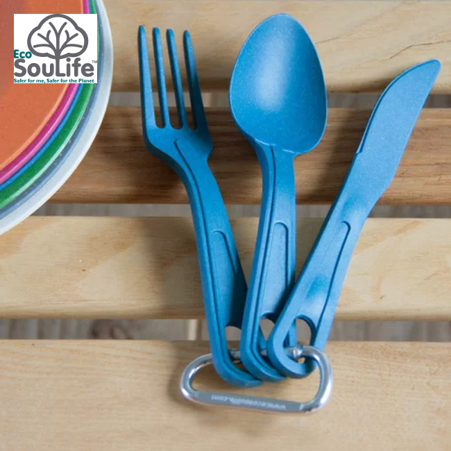 Echo sow life 3 pcs cutlery set EcoSouLife series to Biodegradable bamboo and corn starch principal ...  sc 1 st  Rakuten & OutdoorStyle Sunday Mountain | Rakuten Global Market: Echo sow ...