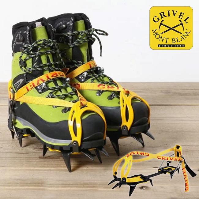グリベル G10・ニューマチック 【送料無料】 GRIVEL G10 New Matic アイゼン クランポン アルパイン クライミング バックカントリー アウトドア 登山 雪 氷 10〜14本爪 セミワンタッチ式 GV-RA072A02