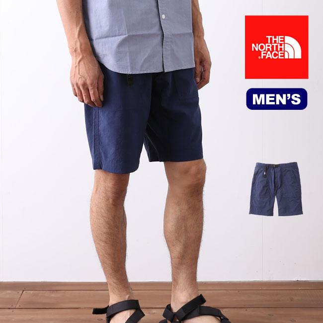 <残り2つ!>ノースフェイス テックインディゴベイカーショーツ  THE NORTH FACE ショートパンツ 男性 メンズ