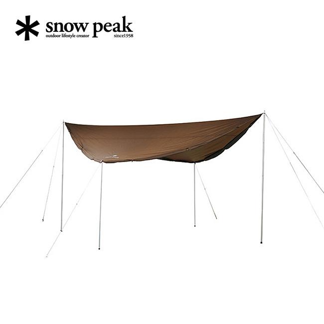 """スノーピーク HDタープ""""シールド""""スクエアエヴォ Pro. 【送料無料】 【正規品】snow peak タープ アウトドア キャンプ TP-251"""