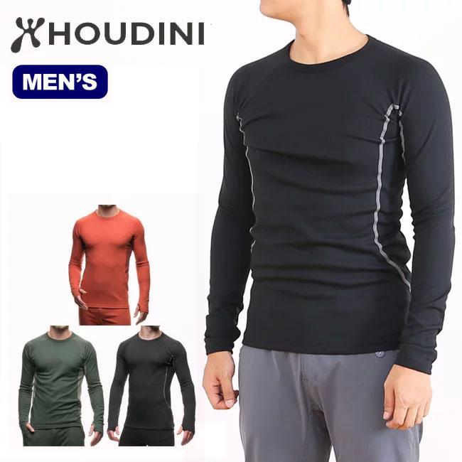 HOUDINI フーディニ アルファクルー 【メンズ】 【送料無料】 ベースレイヤー 保温性 ミッドレイヤー 登山 クライミング トレッキング ツーリング バイク