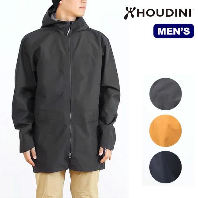 フーディニ メンズ シャーロックコート HOUDINI Sherlock Coat シャーロック コート アウター ジャケット シェルパーカー 耐久性撥水 防水 防風 透湿性 レインジャケット
