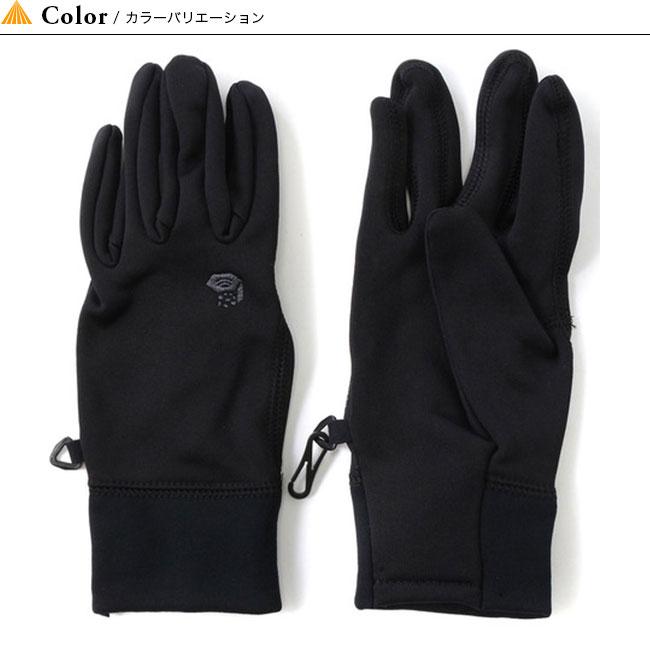 マウンテンハードウェア パワーストレッチグローブ ウィメンズグローブ 手袋 ライナー 薄手 Mountain Hardwear Power Stretch Glove