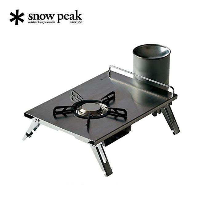 スノーピーク ギガパワープレートバーナーLI snow peak GigaPower Plate Burner LI バーナー 調理 コンロ 卓上 アイアングリルテーブル キャンプ バーベキュー GS-400 <2018 春夏>