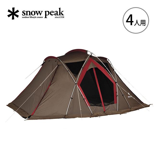 スノーピーク リビングシェル [4人用] snow peak Living Shell テント タープ アウトドア キャンプ 宿泊 ファミリー TP-623R <2019 春夏>