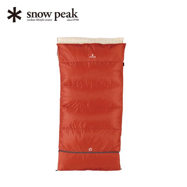 【キャッシュレス 5%還元対象】スノーピーク セパレートシュラフ オフトンワイド LX 寝袋 シュラフ ふとん アウトドア キャンプ snow peak スノーピーク BD-104 <2019 春夏>