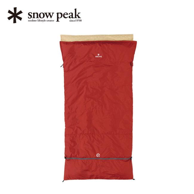 スノーピーク セパレートオフトンワイド 1400 snow peak Separate Sleeping Bag Ofuton 1400. Wide 寝袋 シュラフ ふとん アウトドア キャンプ 宿泊 BDD-104 <2018 春夏>
