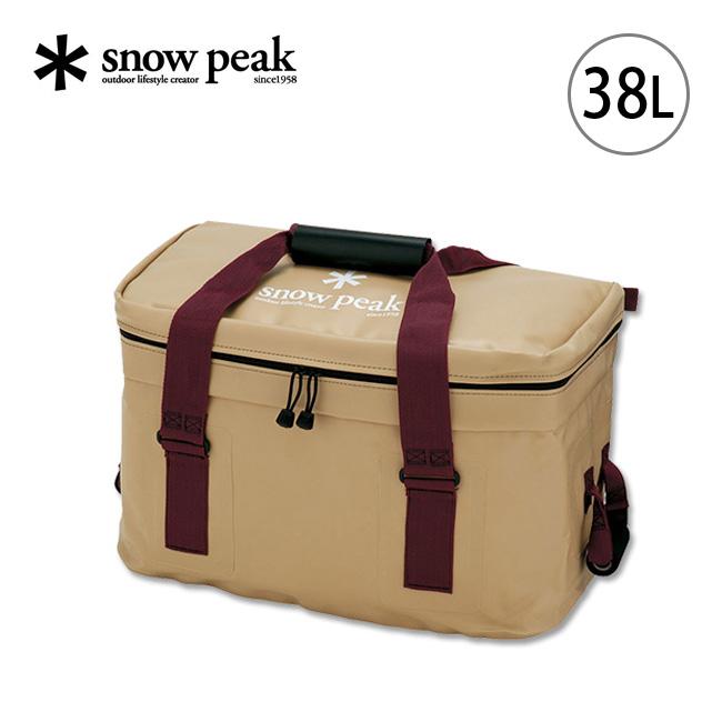 スノーピーク ソフトクーラー38 snow peak Soft Cooler 38 クーラーボックス ソフトクーラー バッグ 保冷 38リットル FP-138 アウトドア <2020 春夏>