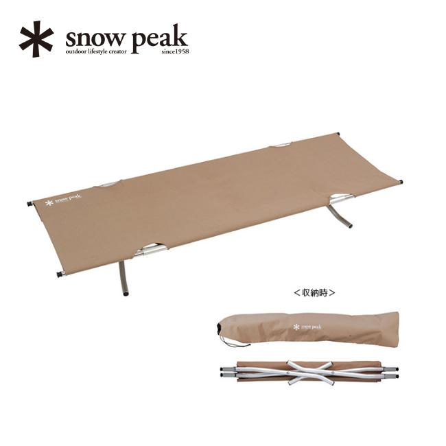 スノーピーク スノーピークコット ハイテンション snow peak Snow Peak Cot High Tension 寝具 ベッド アウトドア キャンプ 椅子 チェア 宿泊 BD-030 <2020 春夏>