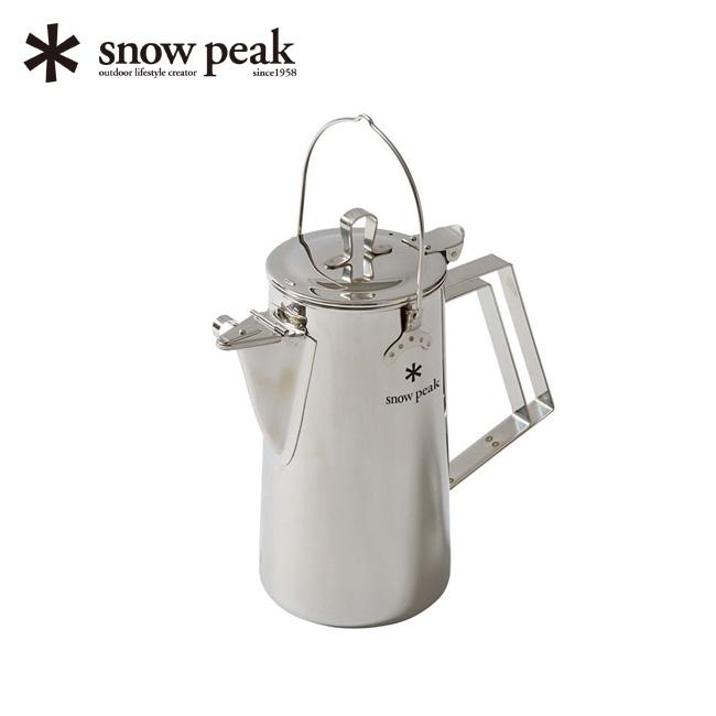 スノーピーク クラシックケトル1.8 snow peak Classic Kettle 1.8 調理器具 ポット コーヒー カフェ アウトドア キャンプ バーベキュー CS-270 <2018 春夏>
